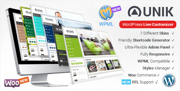 Unik-Ultra-Customizable-WordPress-Theme
