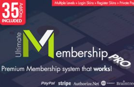 Ultimate Membership Pro preview